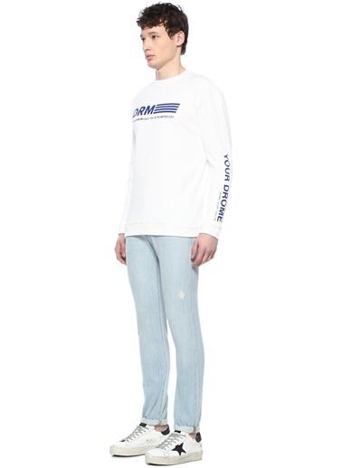 Drome Sweatshirt Beyaz